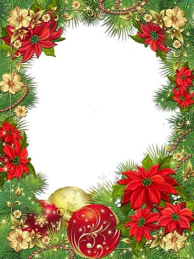 Frames - Christmas Star ( free photo frame psd + free photo frame png, free download )