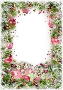 Christmas Greeting frames png ( free 8 frames png, free download )