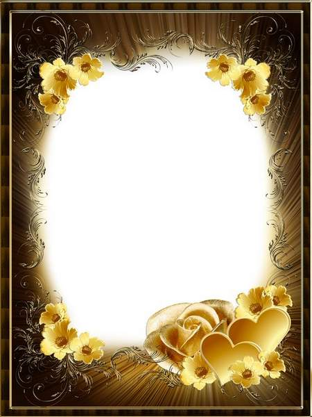 Romantic frame - Pearl rose
