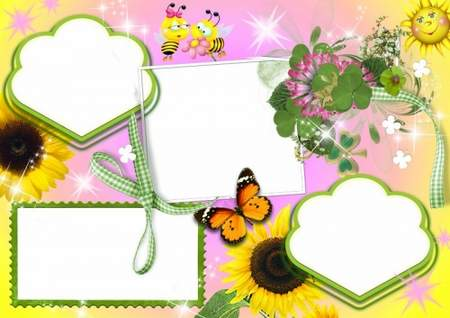 Baby Picture Frames - Beauty and cartoon characters