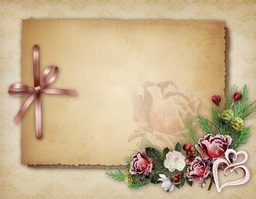 Шаблоны для открытки